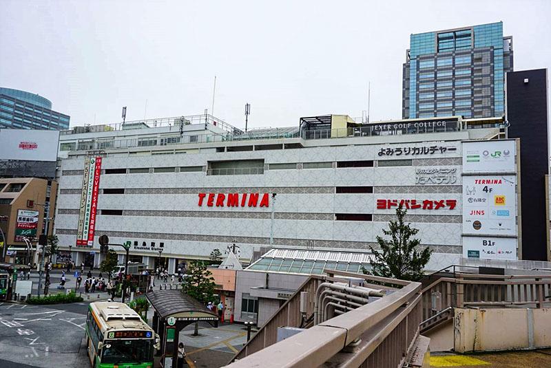 32錦糸町_陸橋から見た駅