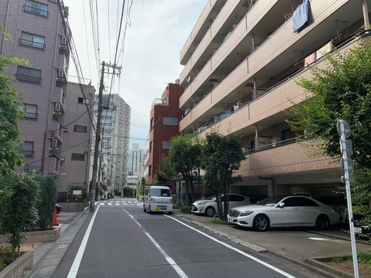 大塚駅南口の住宅街