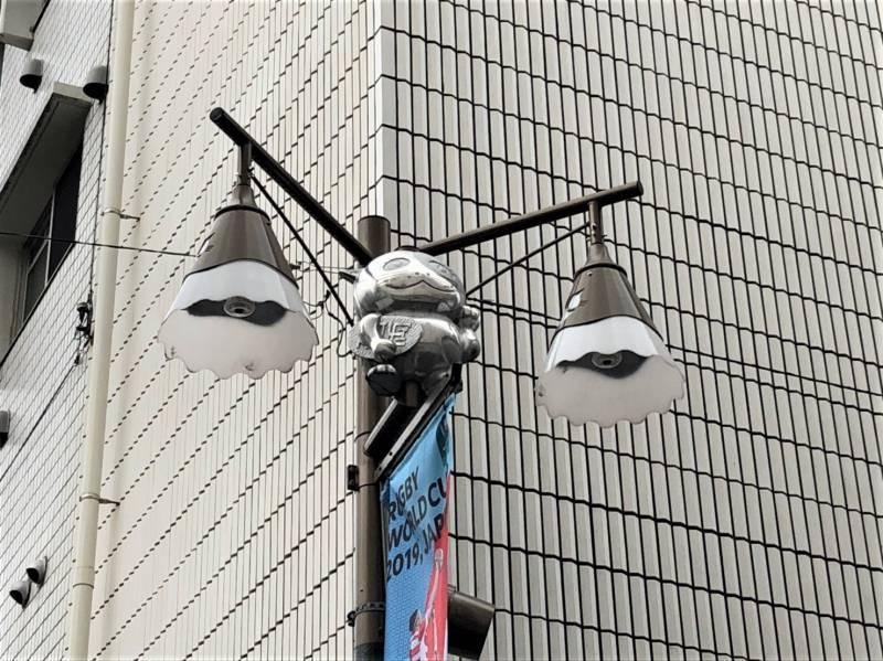 中村橋駅周辺の街灯