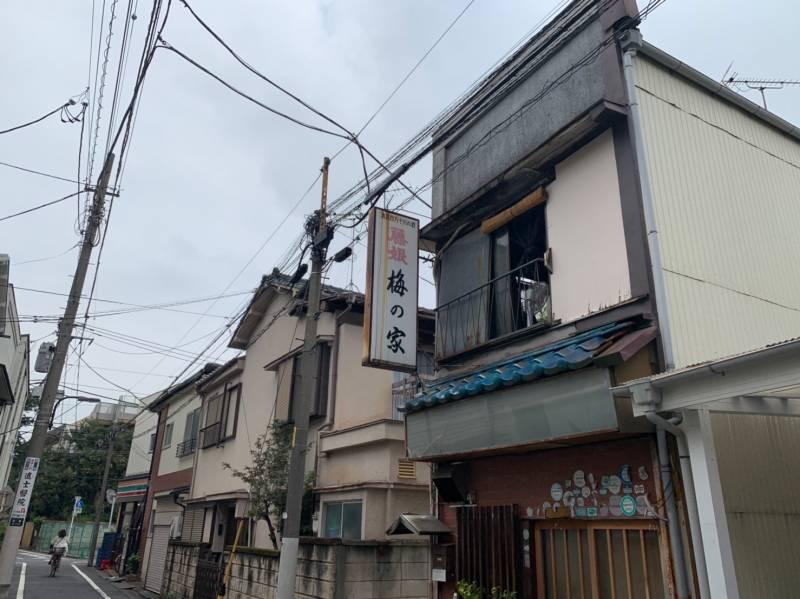 東長崎北側の住宅街