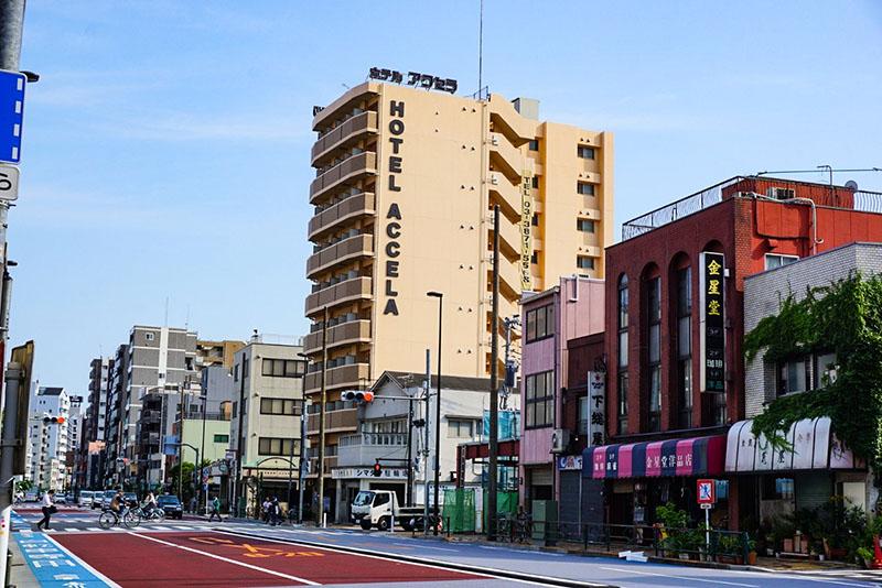 吉野通りの景色