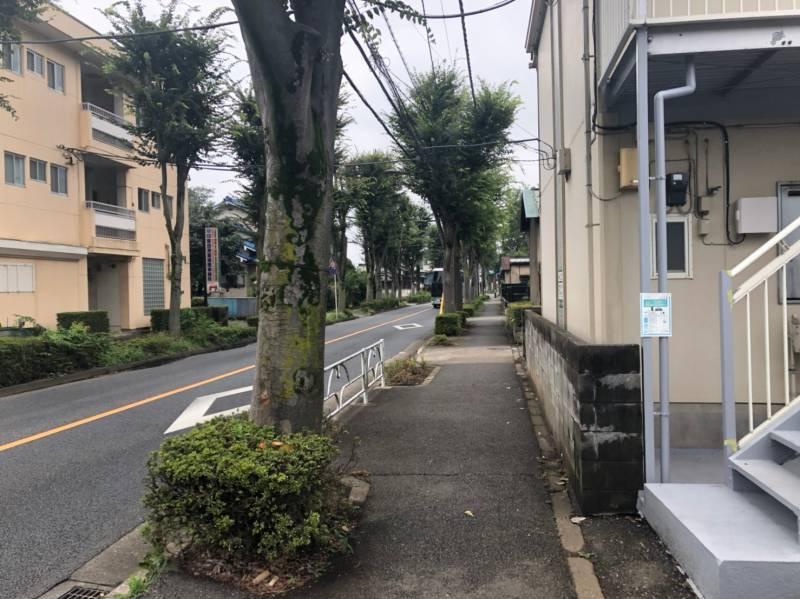 志木街道の街並み2