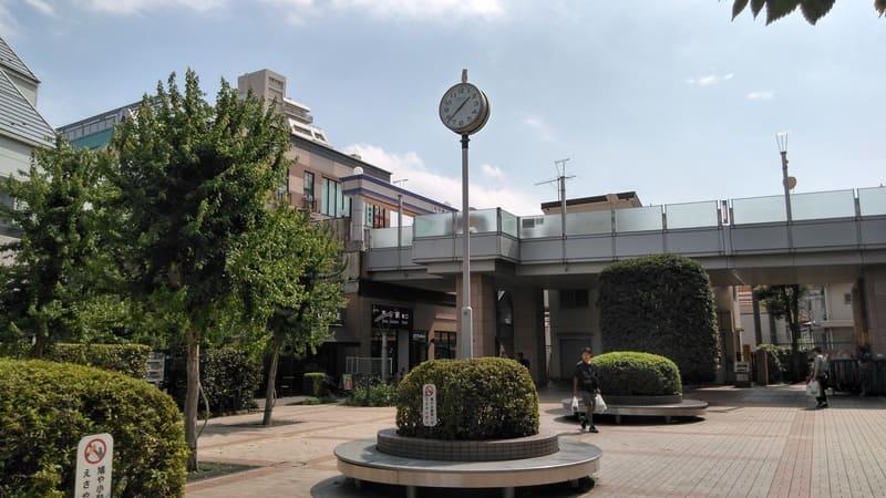 志木駅東口時計台