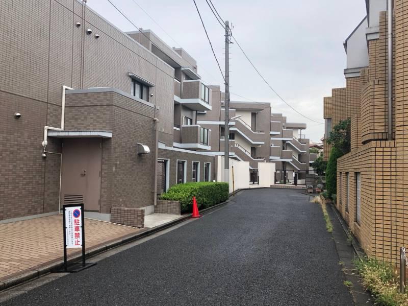 豊島園通りの住宅街