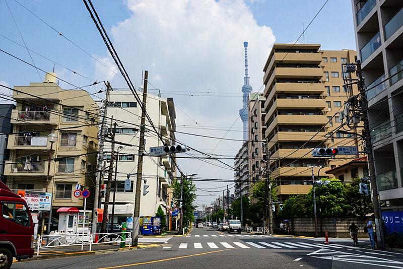 錦糸一丁目の交差点