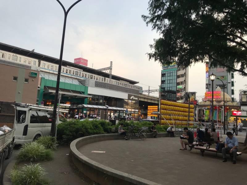 阿佐ヶ谷駅南口側