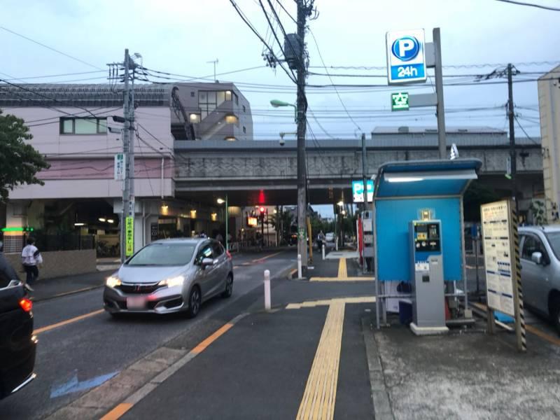 梅ヶ丘駅の高架