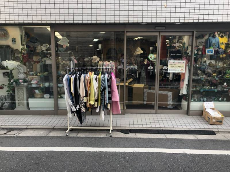 個人営業の洋服店