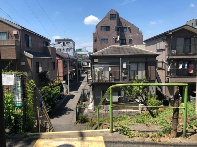 笹塚駅周辺の住宅街
