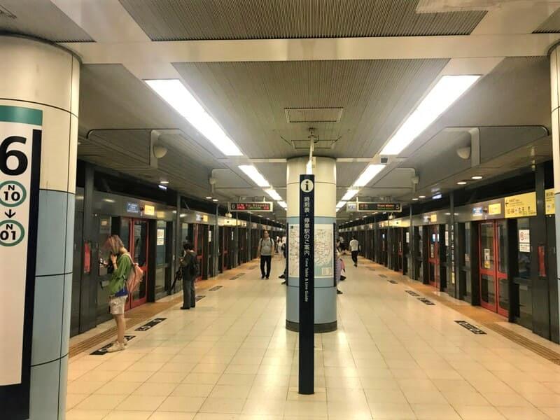 東京メトロ南北線飯田橋駅ホーム1