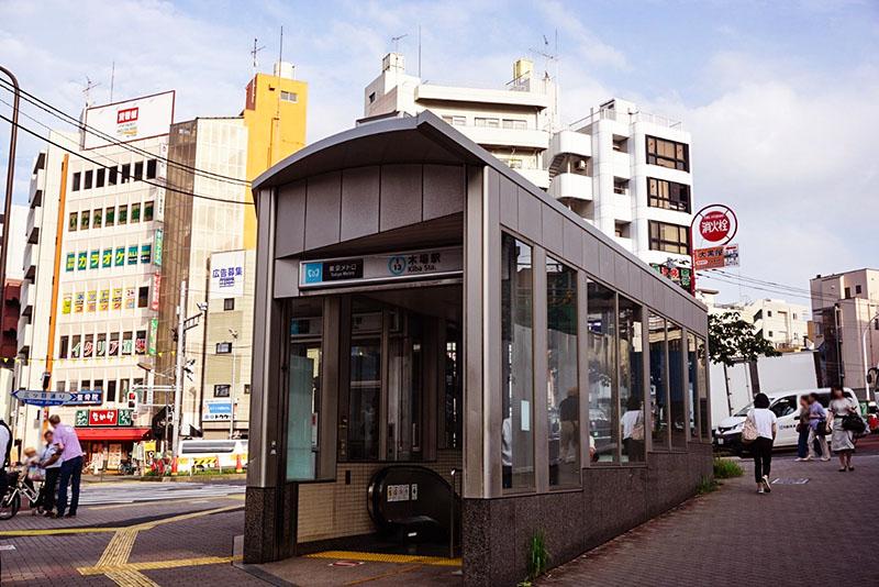 木場駅4b出口