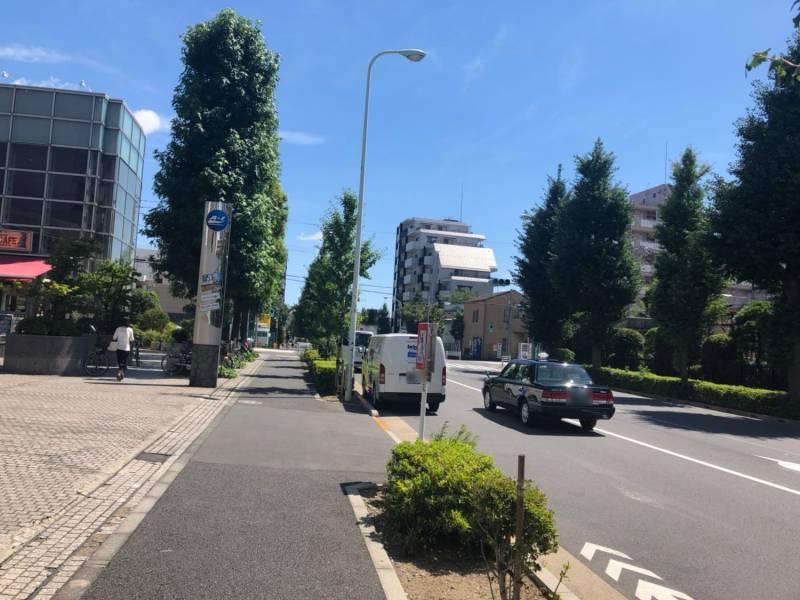 中野通りの街並み