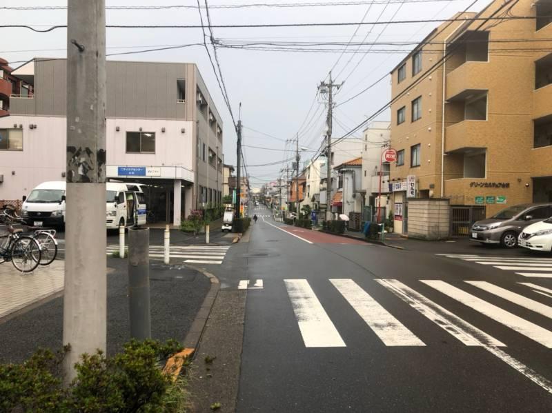 下赤塚駅東側の住宅街