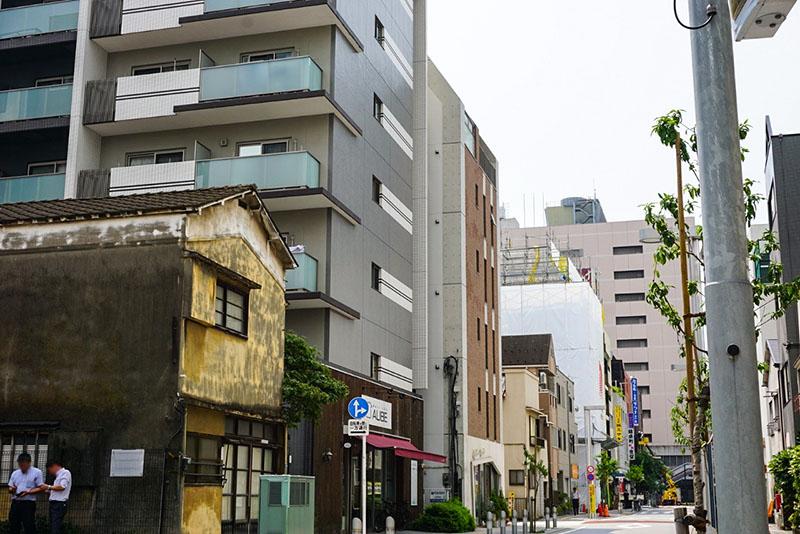 錦糸小学校近くの住宅