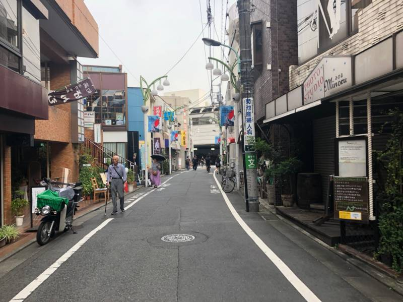 経堂駅へ続く道3