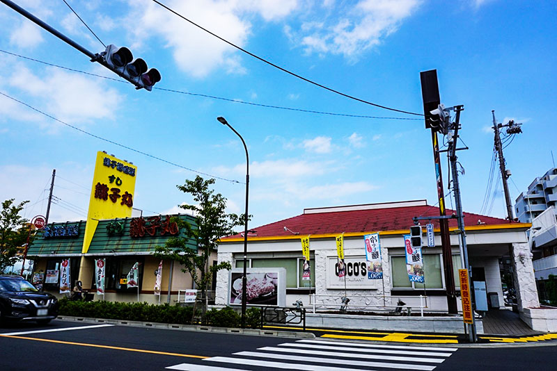 瑞江駅西通りにあるココス