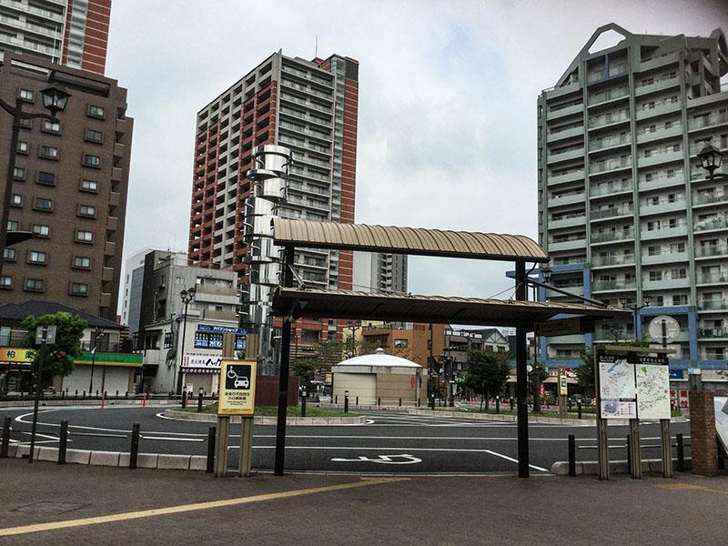 与野駅西口駅前