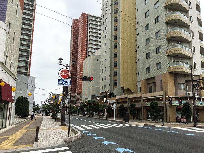 与野駅西口側のタワーマンション