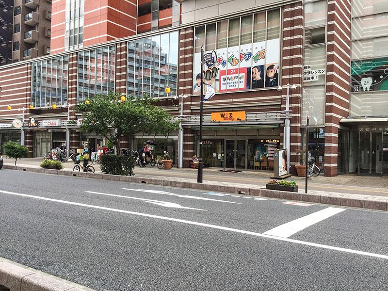 与野駅西口側のタワーマンションのテナント
