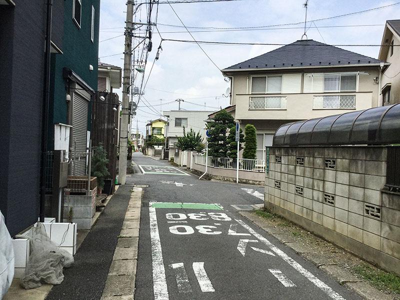 与野駅東口の戸建て