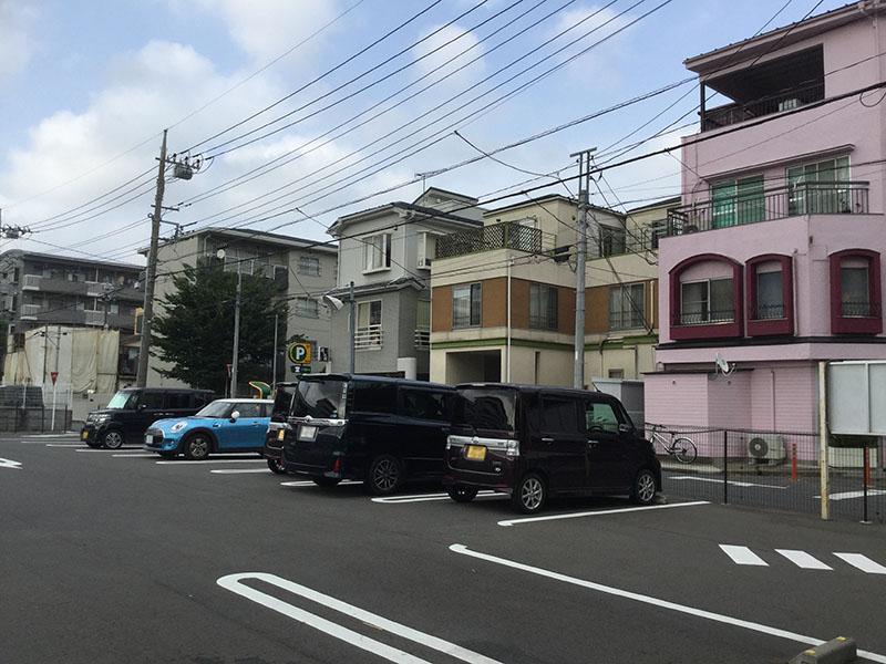 北浦和駅西口の住宅街1