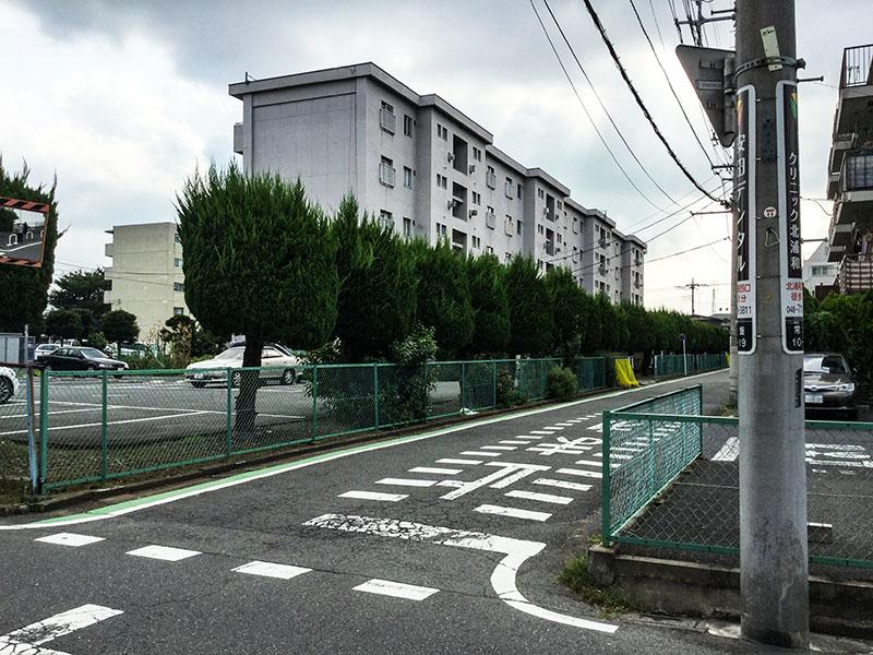北浦和駅西口の住宅街2