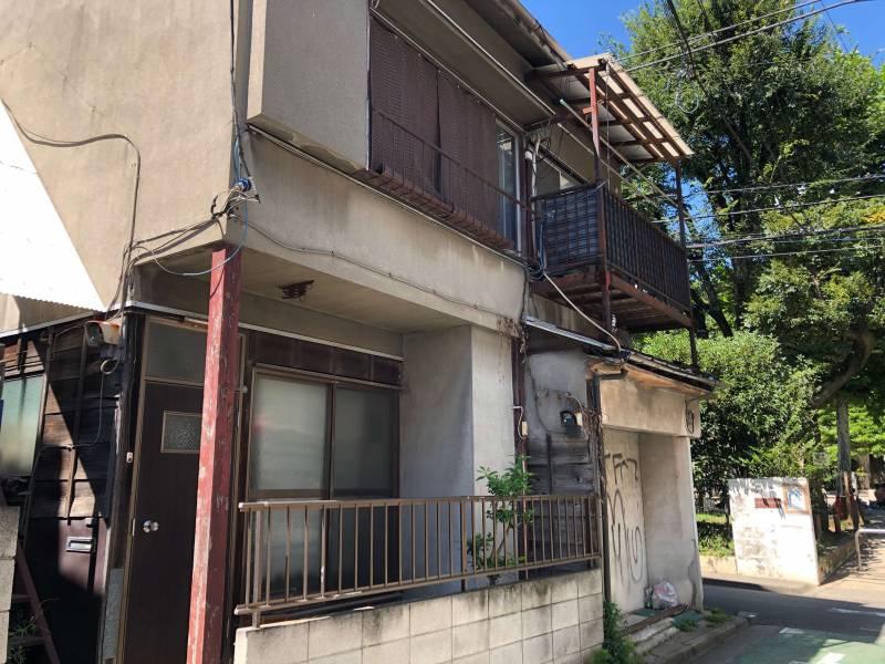 神楽坂の古い住宅
