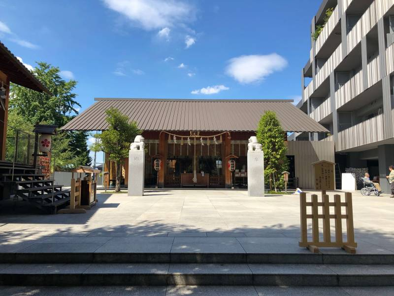 赤城神社の社殿