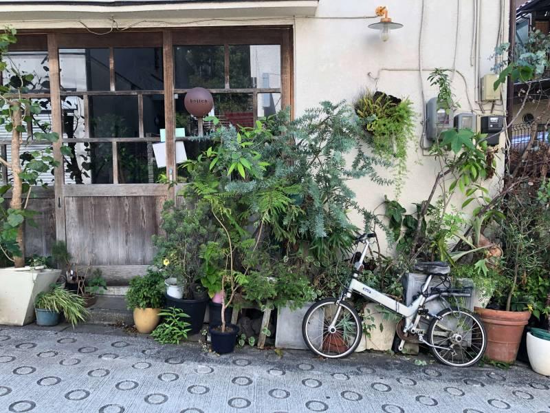 神楽坂にある小路苑