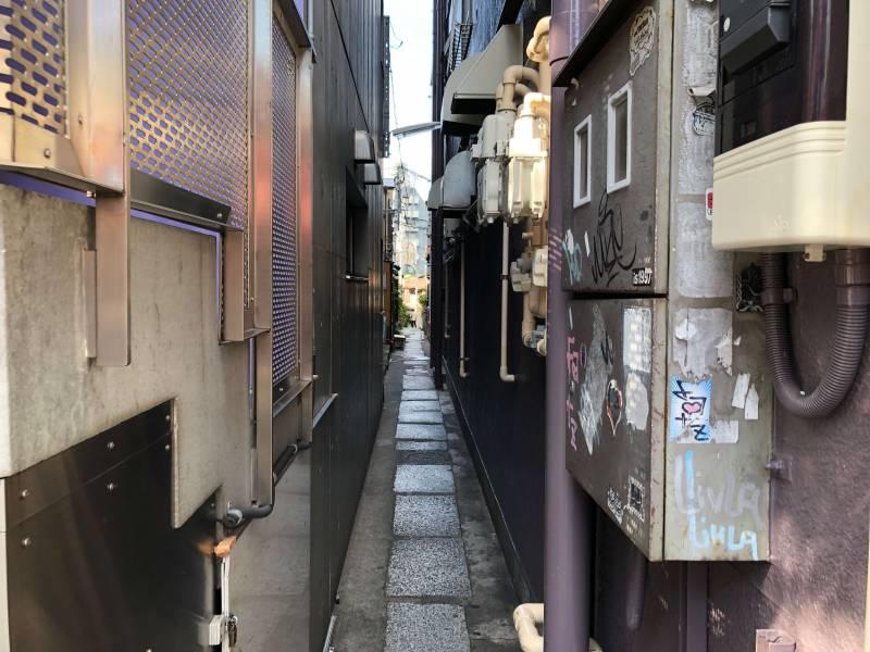 神楽坂の小道