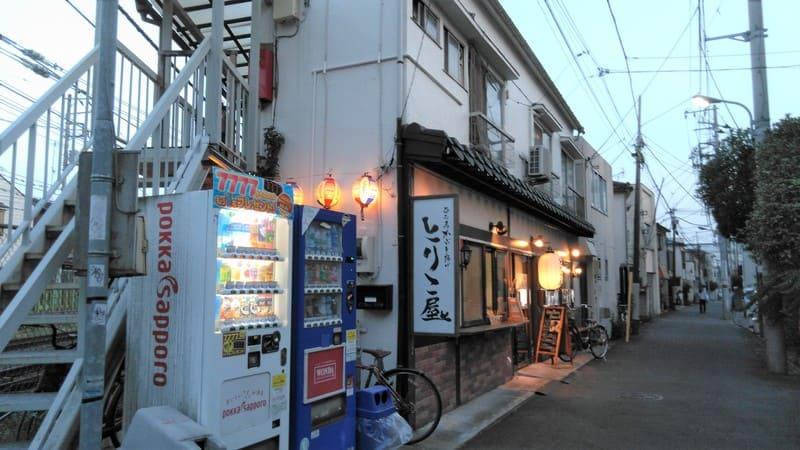 住宅街の居酒屋