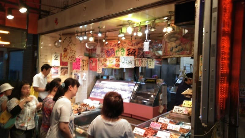 十条銀座商店街の総菜屋