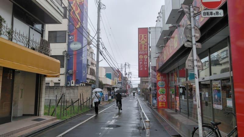 新高島平駅前