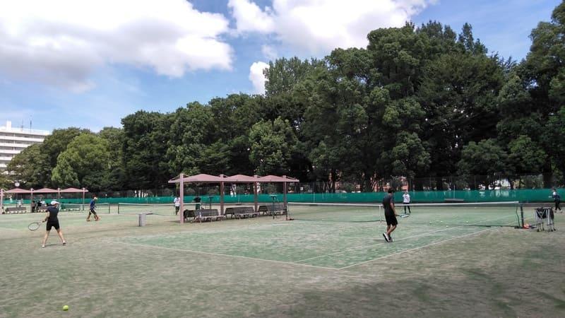 赤塚公園テニスコート