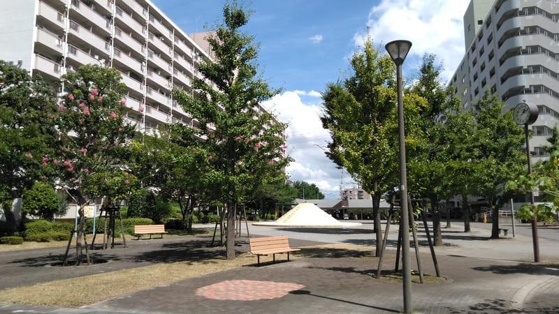 団地内の公園