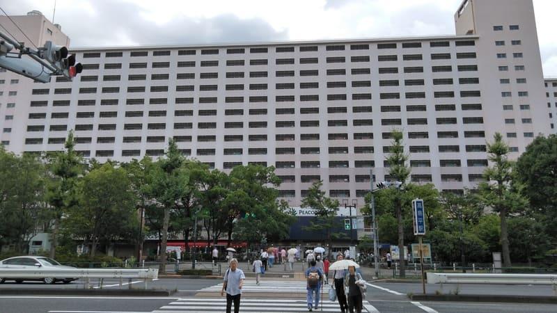 高島平駅南口前