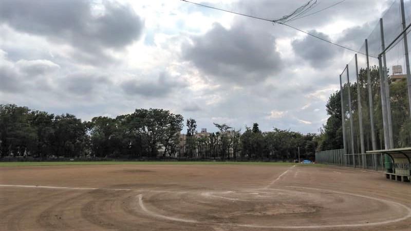 徳丸ヶ原公園<br />  野球グラウンド
