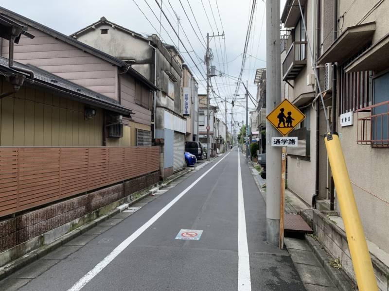椎名町南側の街並み