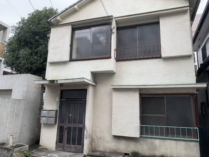 椎名町南側の古い一軒家