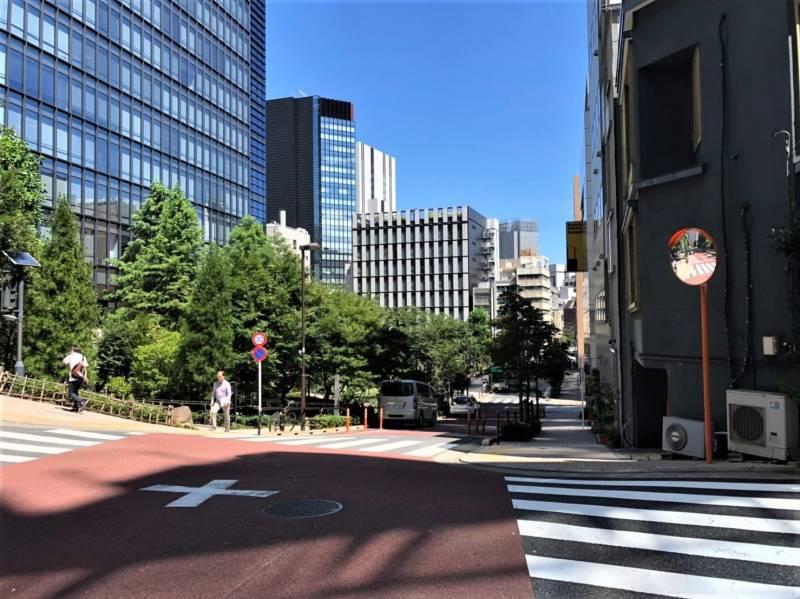 神田淡路町の新坂
