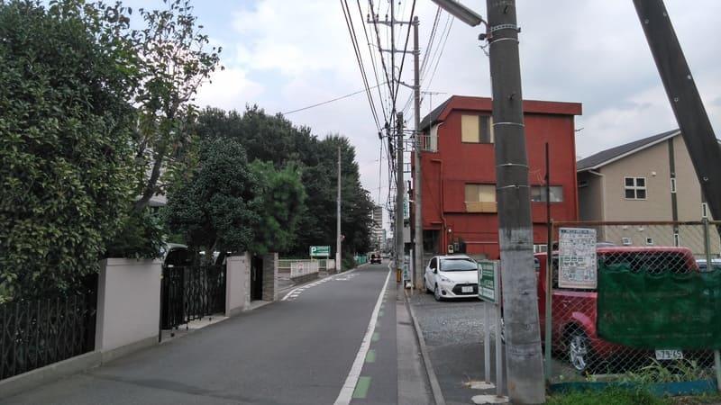 志木駅 南東の住宅街
