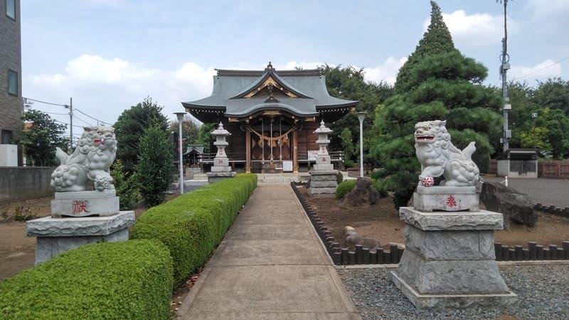 針ヶ谷氷川神社