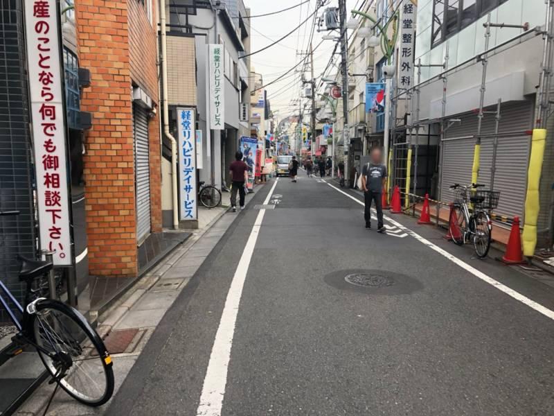 経堂駅へ続く道2