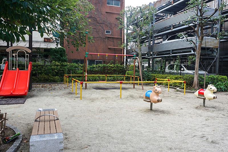 堀部安兵衛道場跡の公園