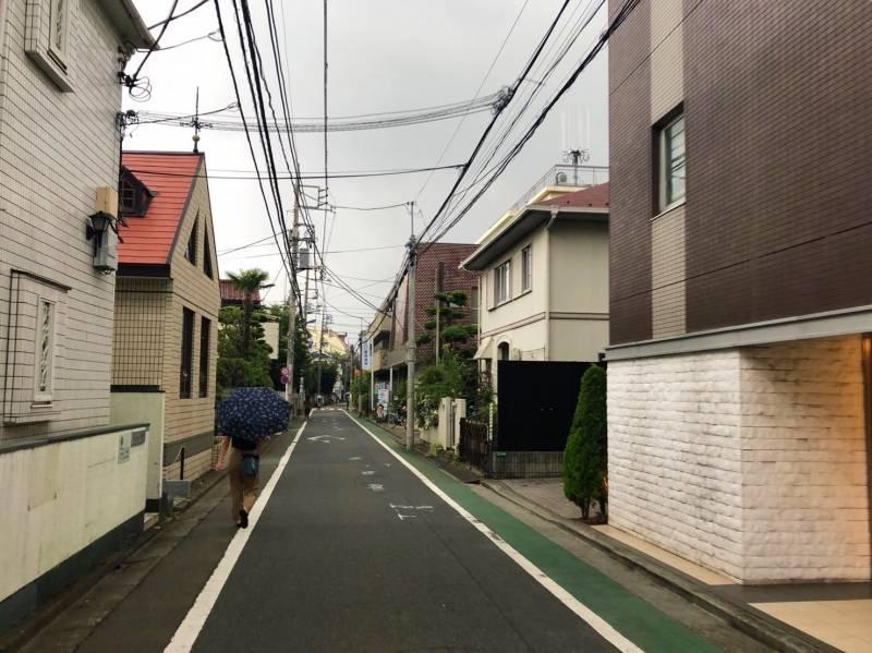 桜台駅北側の街並み2