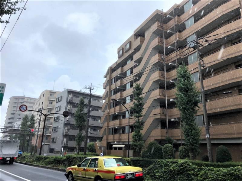 笹目通り沿いのマンション