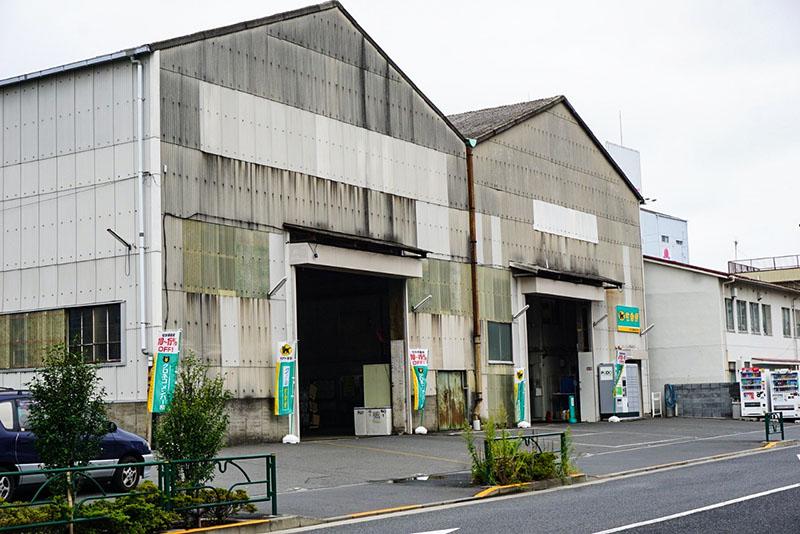 ヤマト運輸の倉庫