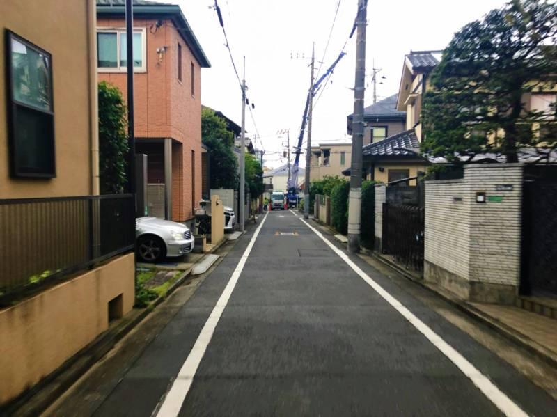 桜台駅北側の閑静な住宅街
