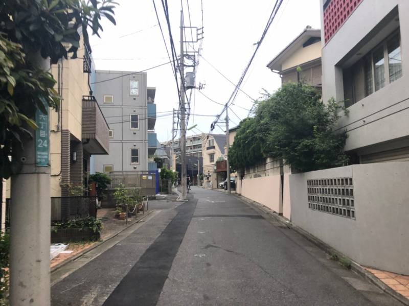 梅ヶ丘駅北側の住宅街