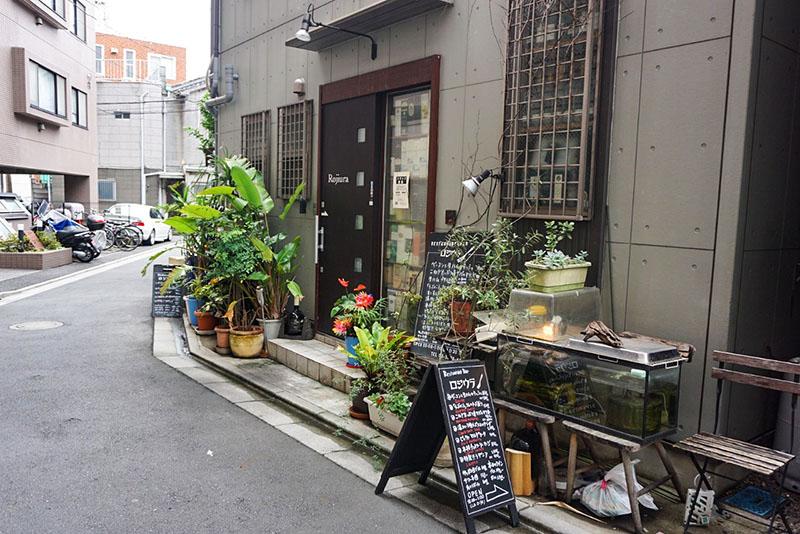 路地裏のオシャレなお店